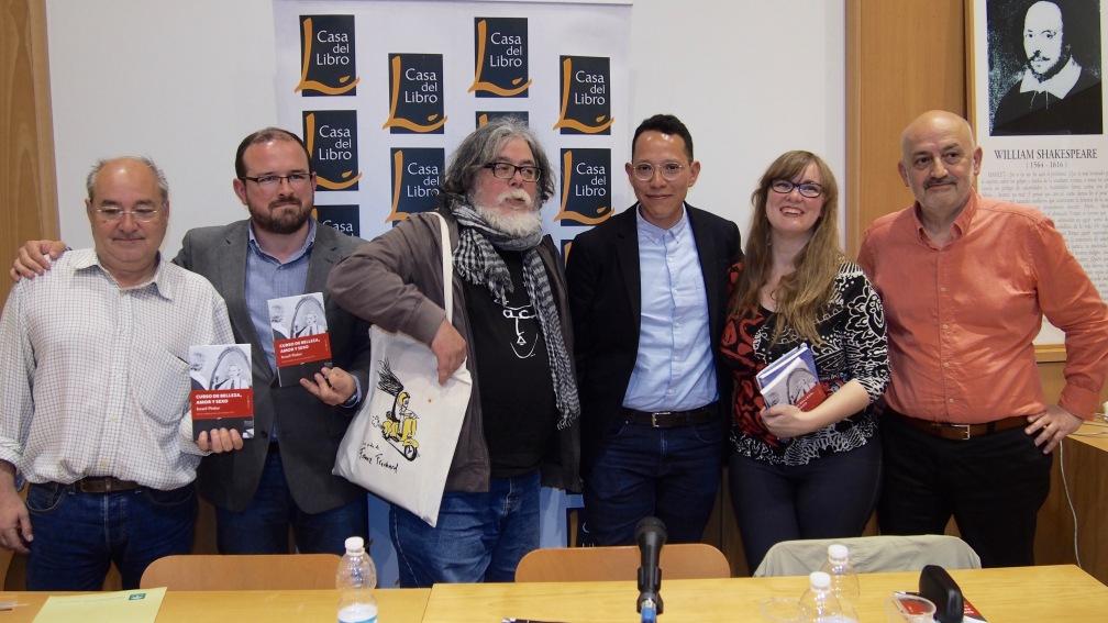 De izquierda a derecha: José María Arévalo, Francisco Bernal, Manuel Moya, Israel Pintor, Ana de Haro y Miguel Nieto.